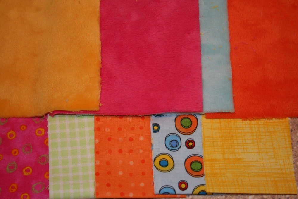 Minky Quilt = Done! (2/4)